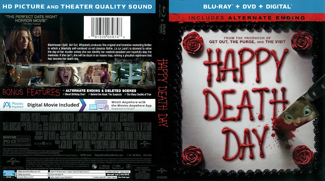 Happy Death Day Bluray Cover