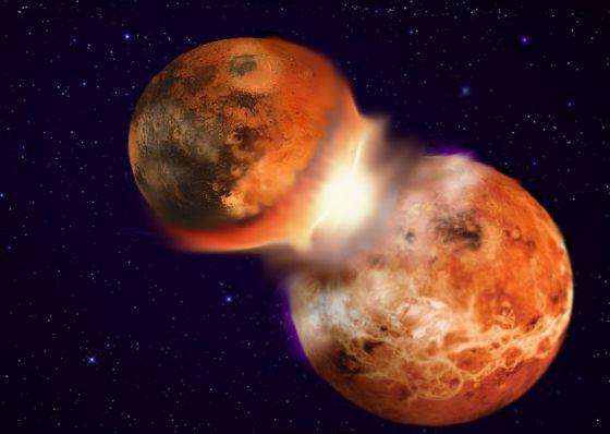 Los dos planetas podrían chocar en cualquier momento