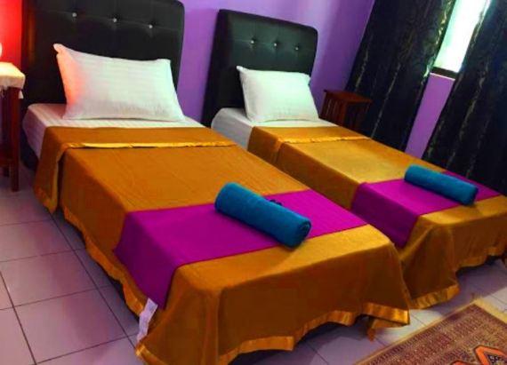 Laman Guest House Pengkalan Balak Melaka bilik tidur