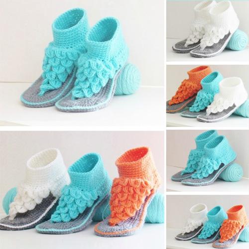 Gladiator Sandals for Women - Free Pattern
