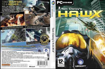 Jogo Tom Clancy's H.A.W.X PC DVD Capa