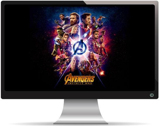 Avengers Infinity War Titre - Fond d'Écran en Full HD