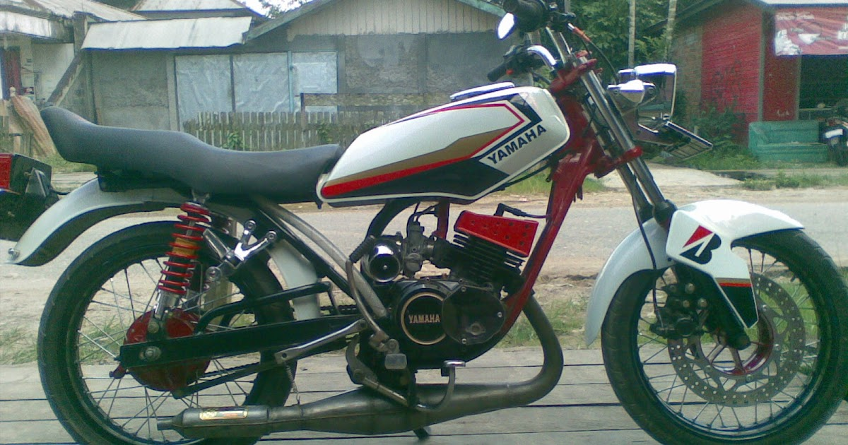 Yamaha RX King Modification