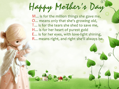 Mother's Day Messages in English Image uptodatedaily