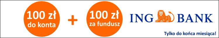 Nawet 220 zł na start w ING Banku Śląskim