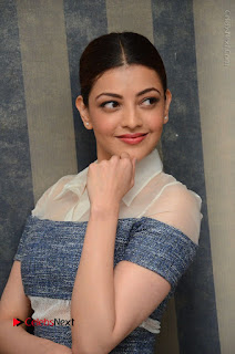 Actress Kajal Agarwal Latest Stills at Khaidi No 150 Movie Interview  0037.JPG