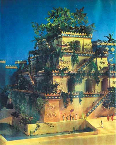 1 7 Hanging Gardens Of Babylon