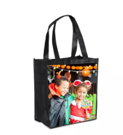 little rock mommy extreme couponing reusable shopping bag perfect trick or treat bag only. Black Bedroom Furniture Sets. Home Design Ideas