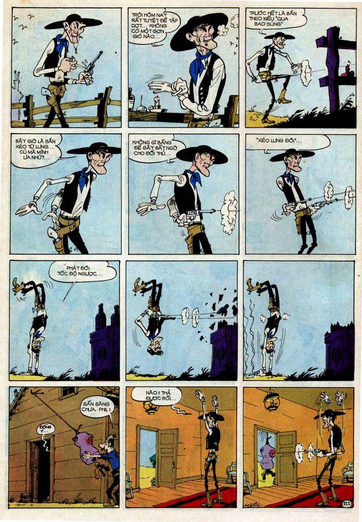 Lucky Luke tập 25 - nhện chân dài trang 22