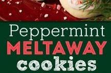 Peppermint Melteway Cookies Recipe