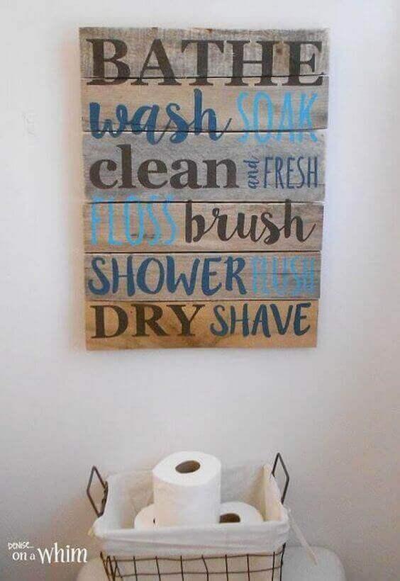 Bathe wash soak..