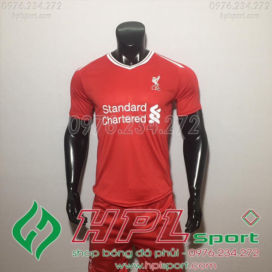 Áo đá bóng câu lạc bộ Liverpool đỏ 2019