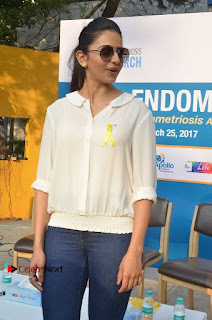 Actress Rakul Preet Singh at Endometriosis Awareness Walk at Apollo Cradle  0049.jpg