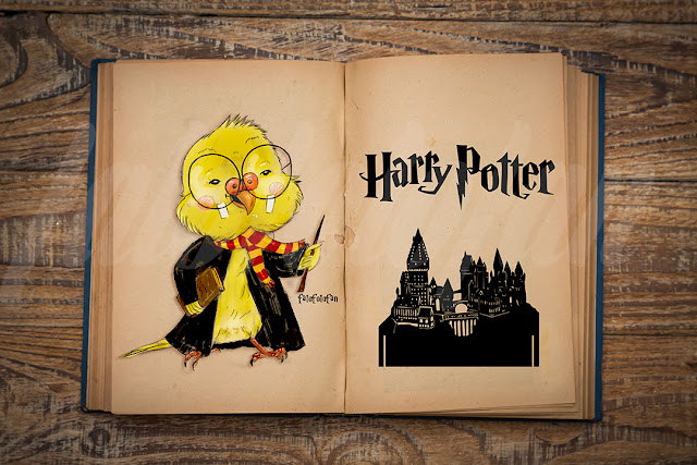 Harry Potter Çizimi