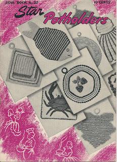 Crochet Potholders Pattern Book