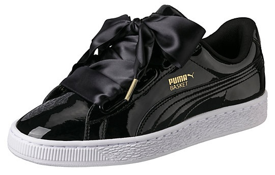 sports shoes d6370 2e6a3 Shoe of the Day   PUMA's All-New Basket Heart Sneakers ...