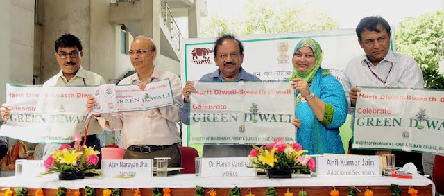Environment Ministry launches Harit Diwali Swasth Diwali campaign