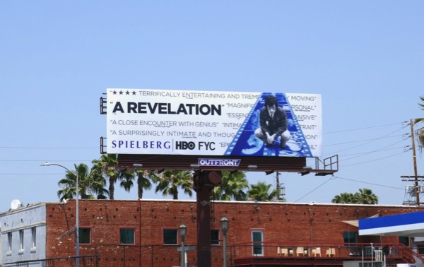 Spielberg documentary Emmy FYC billboard