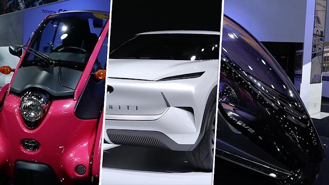 Los autos 'del futuro' que vimos en Detroit