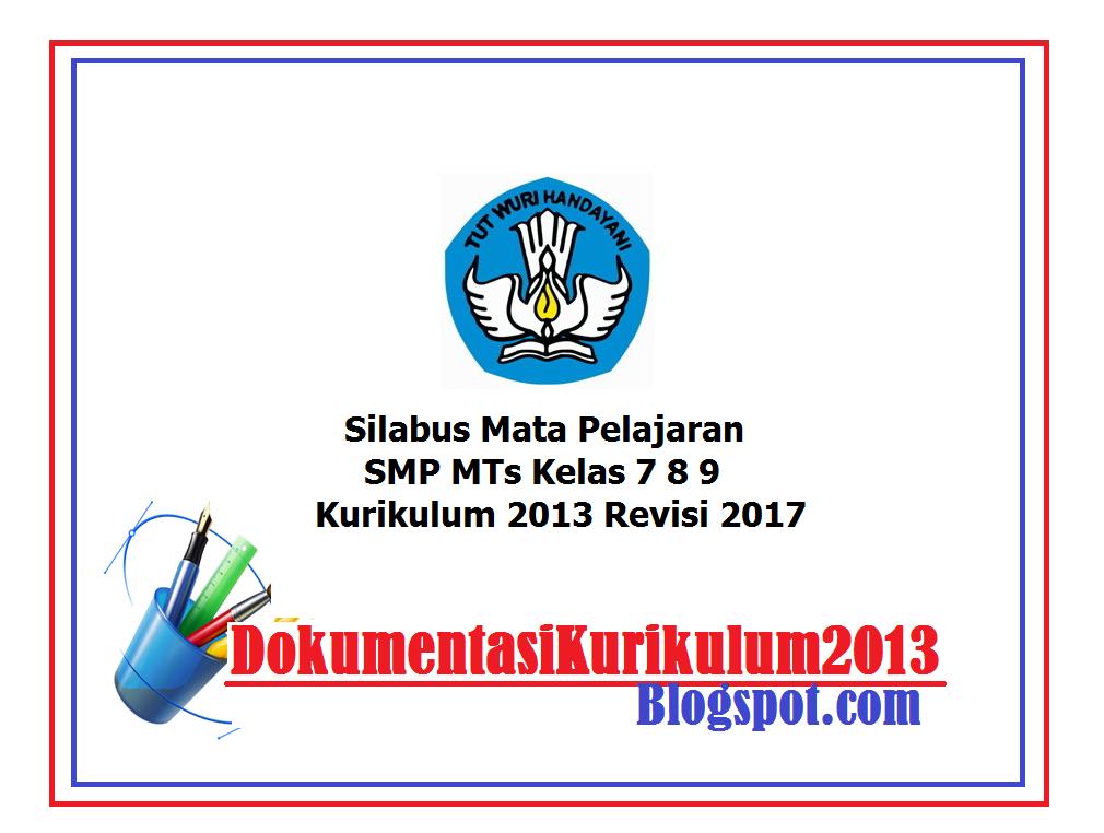 Download Silabus Kelas 7 8 9 K13 Revisi 2017 Semua Mata ...