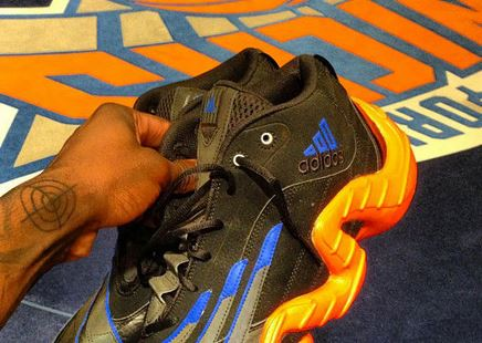 big sale eaabd 1f0b8 Tonight Iman Shumpert Debuts his adidas