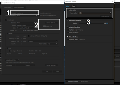 Cara Render atau Export Video di After Effects dengan Size Kecil