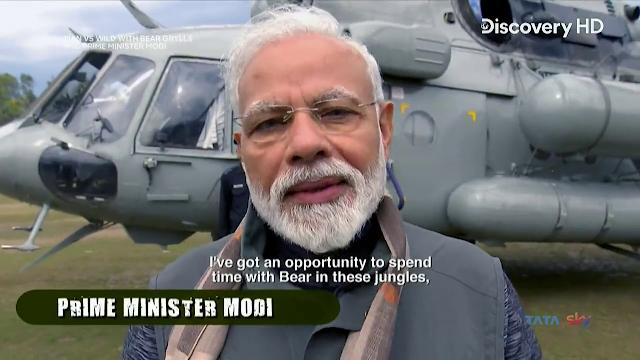 Man vs. Wild with Bear Grylls And P.M Narendra Modi In Hindi Full Episode 720p HDTV Free Download