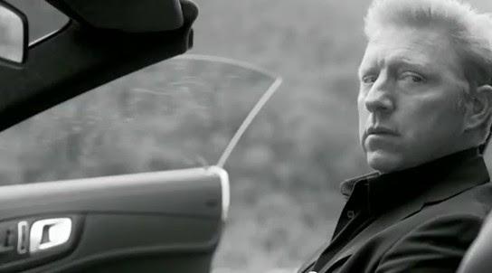 Boris Becker Mercedes