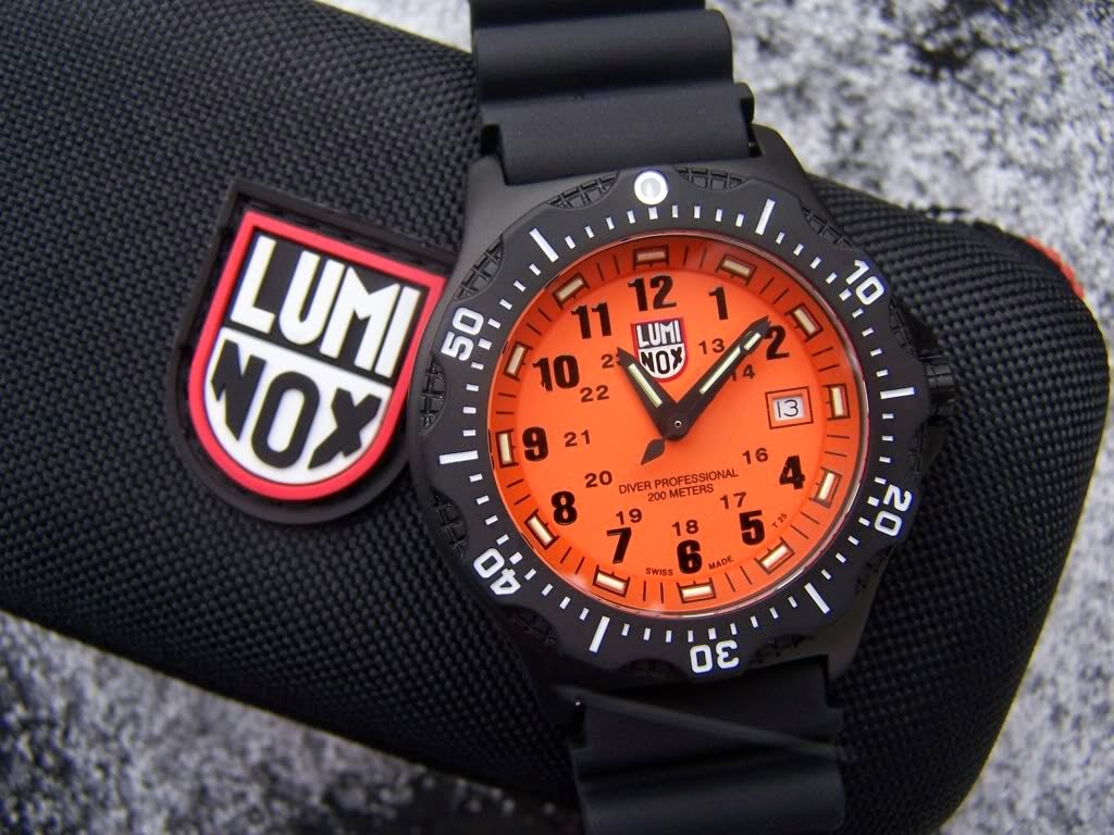 Luminox Black Ops 8409