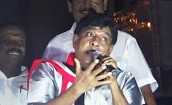Singamuthu Mimicry like Vijayakanth | Eelection Comedy Speech