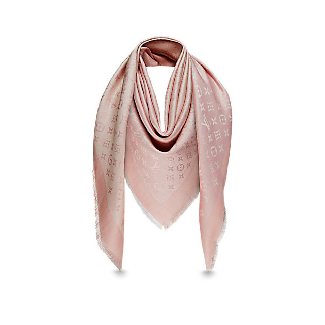 b544b545a022c Louis Vuitton Monogram Sunrise Shine Shawl