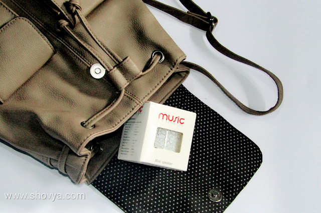 Hangrui A9 - Speaker Bluetooth Portable Murah dan Berkualitas dengan Desain Elegan