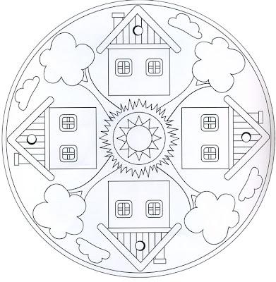 Mandala de casas