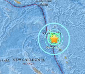 Norsup earthquake causes Tsunami warning in Vanuatu