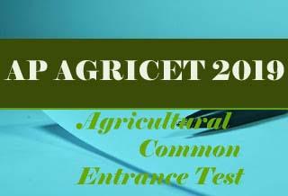 ANGRAU AGRICET 2019