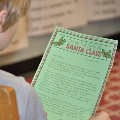 Teach friendly letter writing with this set of 6 engaging activities based on 8 letters from Santa's reindeer.