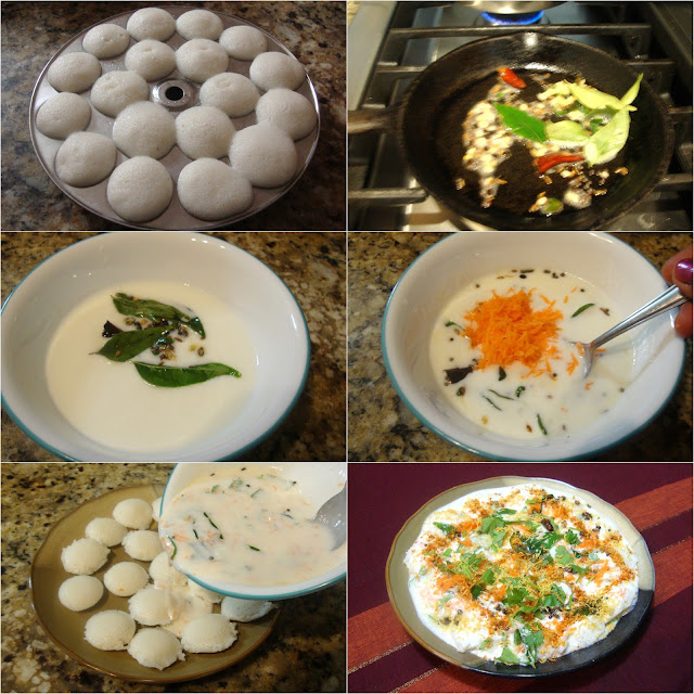 images of Thayir Idli Recipe / Thair Idli Recipe / Curd Idli Recipe / Dahi Idli Recipe