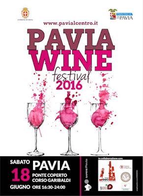 Pavia Wine Festival 18 giugno Pavia