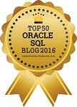 Top 50 Oracle SQL Blogs 2016