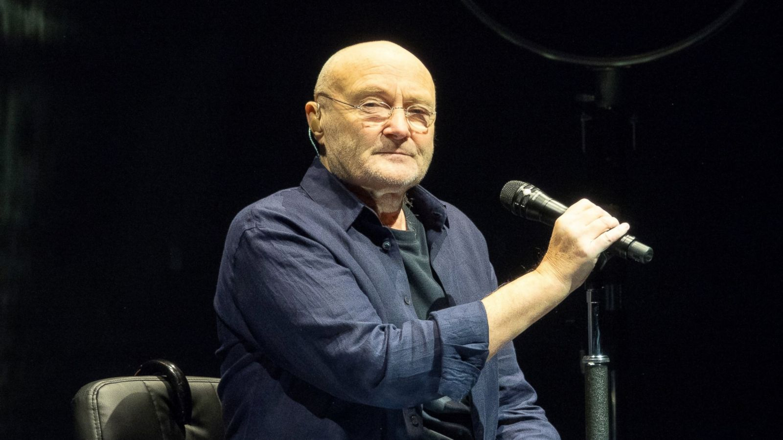 Phil Collins v roce 2018