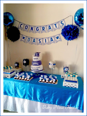 mesa dulce graduación