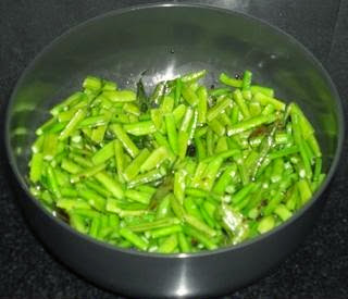 cut thecluster beans