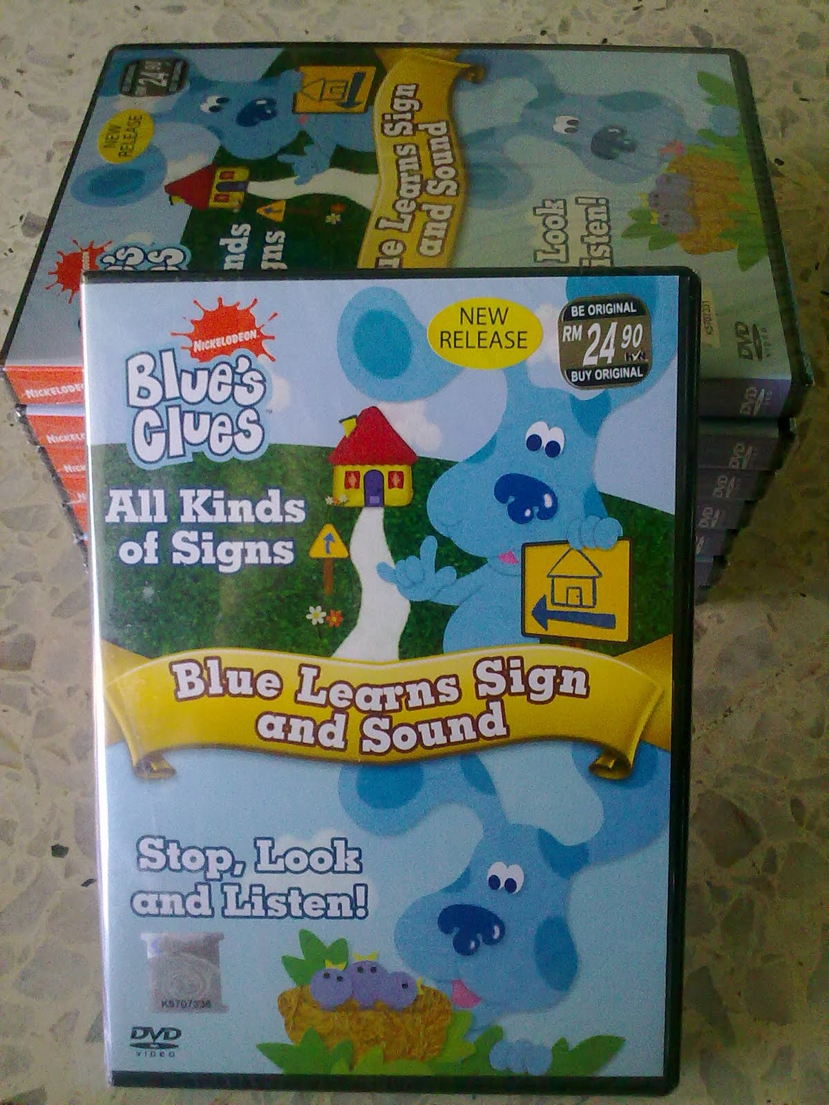 Online Shopping On9shop2u Blue S Clues Blue Learns Sign