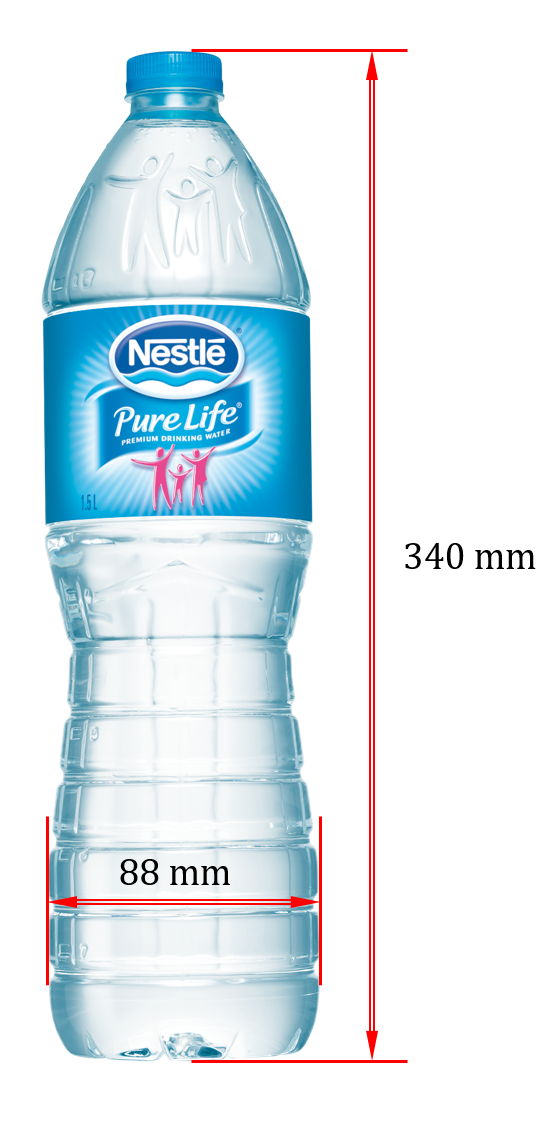 Eng  Shady Mohsen blog: Nestle water bottle dimensions