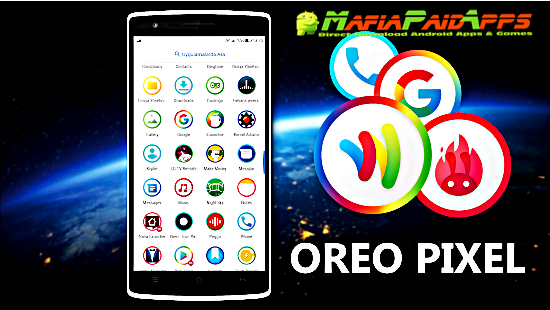 Icon Pack - Android™ Oreo 8 0 1 2 6 Patched Apk for Android