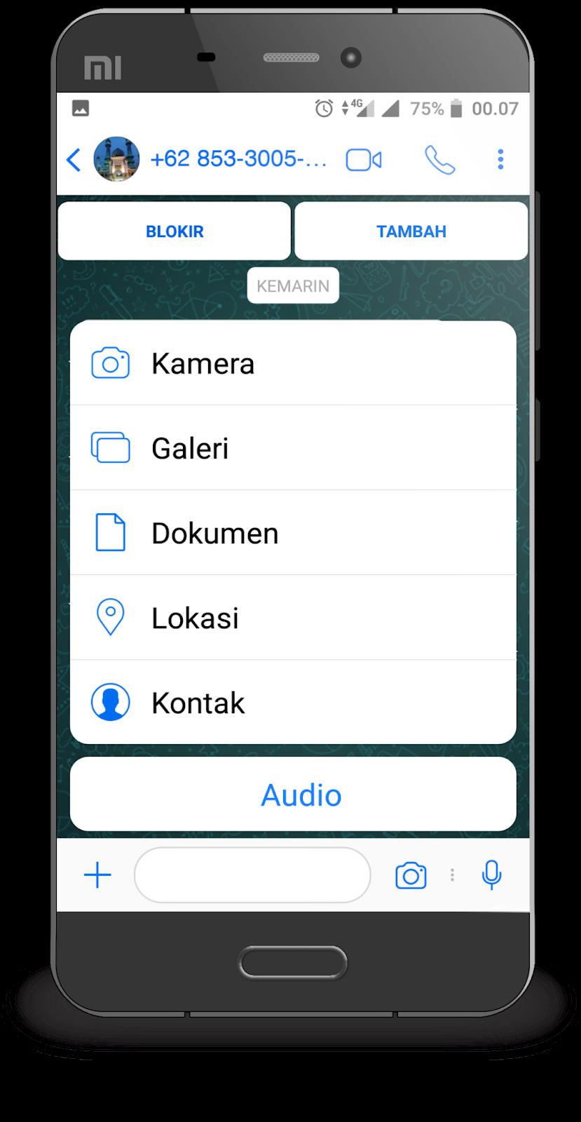 Download WhatsApp Mod IOS 12 Terbaru RC-YoWa V 7 70 di Semua