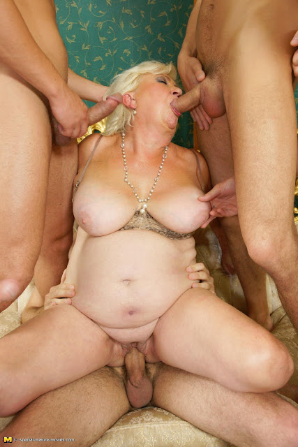 Was and kinky mature gangbang are mistaken