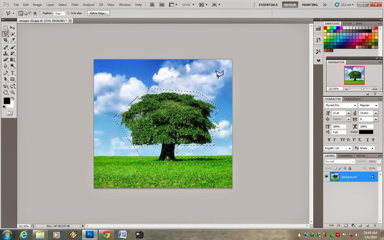 Cara Menghilangkan Objek Pada Gambar Melalui Photoshop