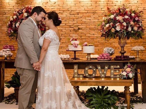 Flavia ♥ Érico : Casamento no Restaurante Pistache