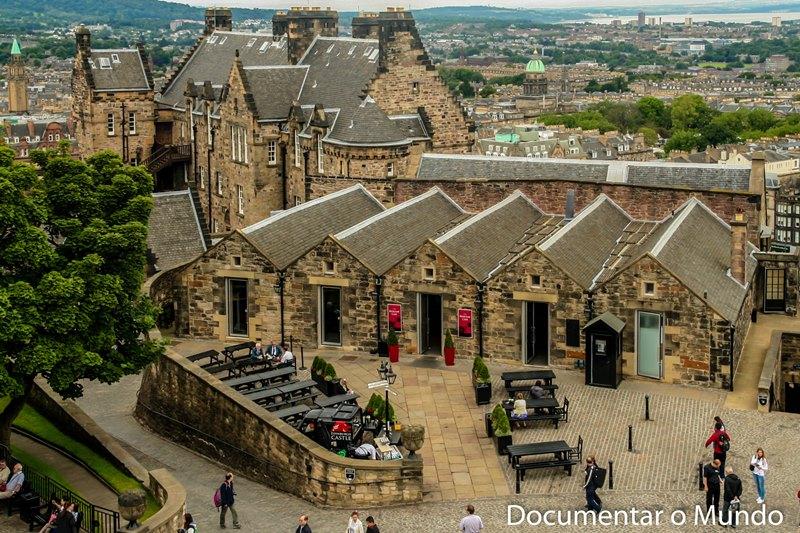 Salas de Chá; Castelo de Edimburgo; Edinburgh Castle